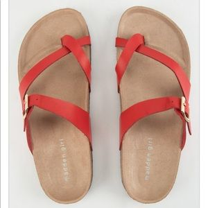 NWT Madden Girl Paamy Sandals